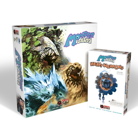 Monster Lands - MONSTER deluxe edition + expansion + promos (All-in)